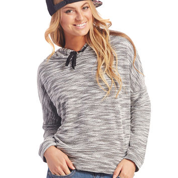 Blended Knit Hoodie | Wet Seal