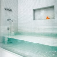 Fancy - Clear Glass Tub