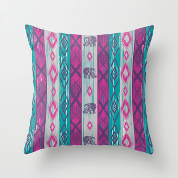 BOHO Chic Throw Pillow by rskinner1122