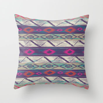 Boho bob Throw Pillow by rskinner1122