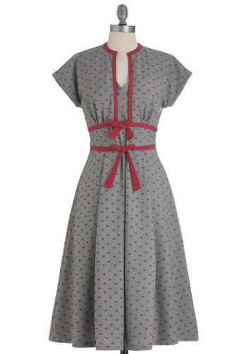 Bettie Page Social Savant Dress | Mod Retro Vintage Dresses | ModCloth.com
