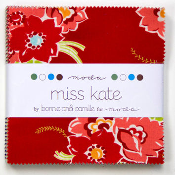 5-inch Charm Pack, Miss Kate by Bonnie and Camille for Moda