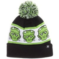 Sourpuss Frankenstein Knit Hat | Retro Rockabilly