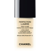 CHANEL PERFECTION LUMIÈRE Long Wear Flawless Fluid Sunscreen Makeup Broad Spectrum SPF 15