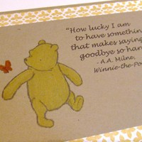 How Lucky I Am - Winnie The Pooh Qu.. on Luulla