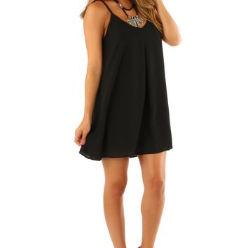 Light My Fire Dress: Black