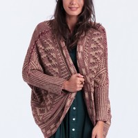 Off The Trails Cocoon Cardigan