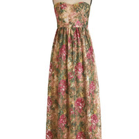 Long Strapless Maxi A Chance Romance Dress