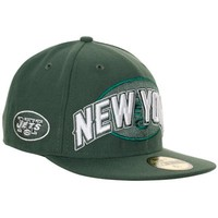 New Era New York Jets NFL Draft Fitted Hat - Green