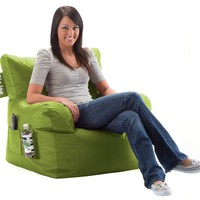 Comfort Research Big Joe Dorm Chair with Smart Max Fabric, Lime-anade:Amazon:Home & Kitchen