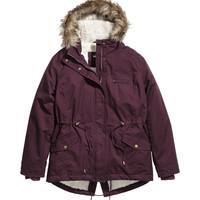 H&M - H&M+ Parka with Pile Lining -