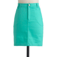 Wintergreen Takes All Skirt | Mod Retro Vintage Skirts | ModCloth.com