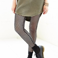 Out From Under Diamond Mesh Legging - Urban Outfitters