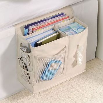 Gearbox Bedside Caddy Color: Flax:Amazon:Health & Personal Care