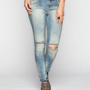 Tinseltown Girlfriend Womens Skinny Jeans Medium Blast  In Sizes