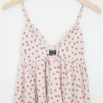 Floral Baby Doll Cami