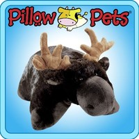 My Pillow Pet Chocolate Moose - Small (Brown):Amazon:Toys & Games