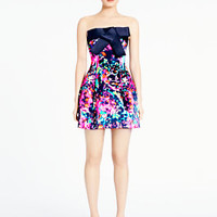 madison ave. collection cyber floral ellery dress - kate spade new york