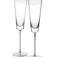 darling point toasting flute pair - kate spade new york