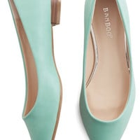 Mint Parisian Flats