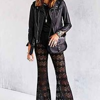 Band Of Gypsies Crochet Flare Pant - Urban Outfitters