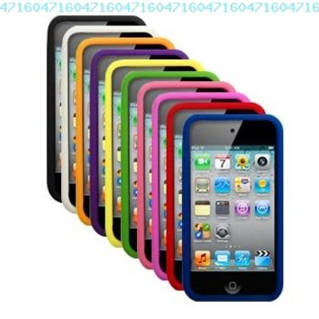 Cbus Wireless Ten Silicone Cases / Skins / Covers for Apple iPod Touch 4 / 4G / 4th Gen - Black, White, Orange, Purple, Yellow, Green, Light Pink, Hot Pink, Red, Blue:Amazon:Electronics