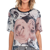 BLK DNM T-Shirt 12 in Rose