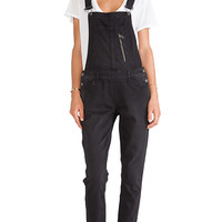 GREYWIRE Dallas Overall in Black