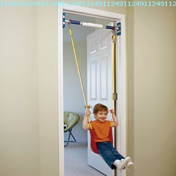 Rainy Day Playground Indoor strap swing (to be used with support system):Amazon:Toys & Games