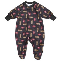 San Francisco 49ers Gerber Infant Blanket Sleeper Bodysuit - Scarlet