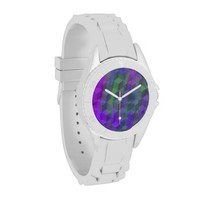 Colorful geometric sporty watch