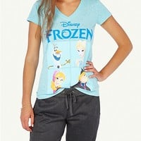 Heathered Frozen Tee