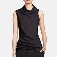 Helmut Lang 'Sonar' Draped Wool Top | Nordstrom