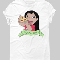 Pizza girl - Hipster Tops