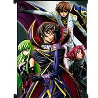 """Code Geass Anime Fabric Wall Scroll Poster (16""""x22"""") Inches"""