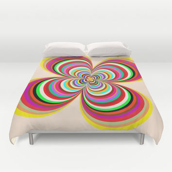 Colors Duvet Cover by Robleedesigns