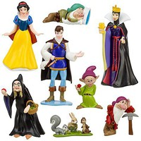 Snow White and the Seven Dwarfs Figure Play Set -- 8-Pc. | Figure Sets | Disney Store