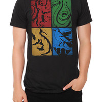 Harry Potter House Crests T-Shirt