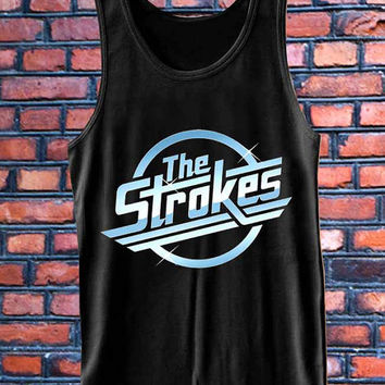 The Strokes LOGO  best Tank Top Mens and Girls