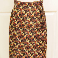 African Clothing African Skirt African Print Skirt Bohemian Clothing Ethnic Clothing Wrap Skirt Vintage Skirt Vintage Clothing Long Skirt