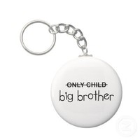 Only Big Brother Key Chain from Zazzle.com