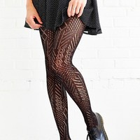 Multi-Marled Pointelle Tight - Urban Outfitters