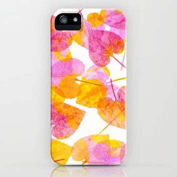 Leaves #2 iPhone & iPod Case by Ornaart
