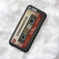Retro Compact Audio Cassette iPhone 6 case