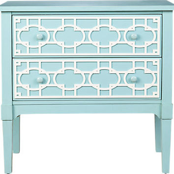 Palomi Blue Accent Chest