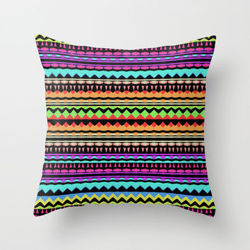Mix #575 Throw Pillow by Ornaart