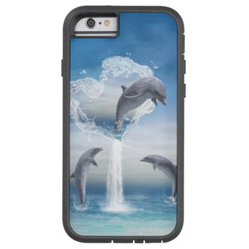 The Heart Of The Dolphins iPhone 6 case