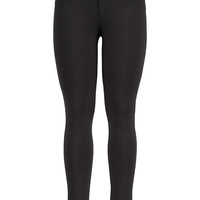 Smart black skinny ponte pants