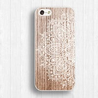 flower pattern iphone case,IPhone 5s case,floral 5c case,IPhone 5 case,wood flower case,IPhone 4 case,light wood grain,IPhone 4s case,FI273