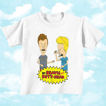 Beavis and Butthead for Youth T Shirt boys and T shirt Girls, children